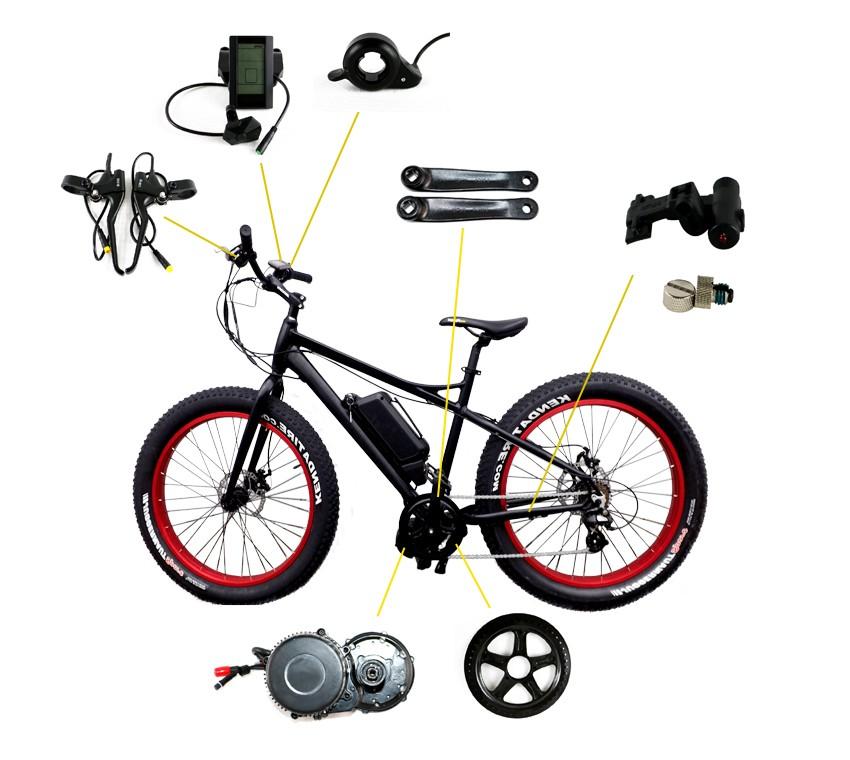 велосипед с электромотором bafang