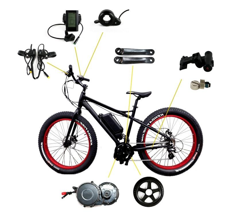 lcd eletric bicicleta ebike kits mm g320.750