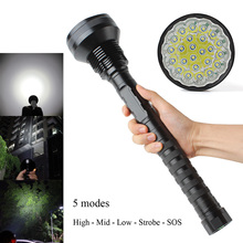 NEW CREE XML-T6 24xT6 LED 32000LM High power Glare 24T6 LED Flashlight Torch floodlight accent light camping lantern sitemap 139 xml