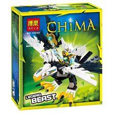 Reedcall 1 коробка 103 шт Chimaed white eagle фигурка строительные блоки игрушки Совместимые Legoes Chimaed LEPINE с оригинальной коробкой