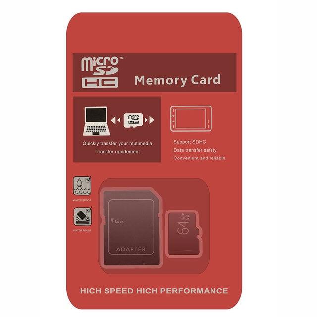 32 GB micro sd SDHC Carte Mémoire TF Flash Classe 10 micro sd TF Carte 128 gb pour le téléphone portable/mp3 micro sd 64 gb livraison lecteur