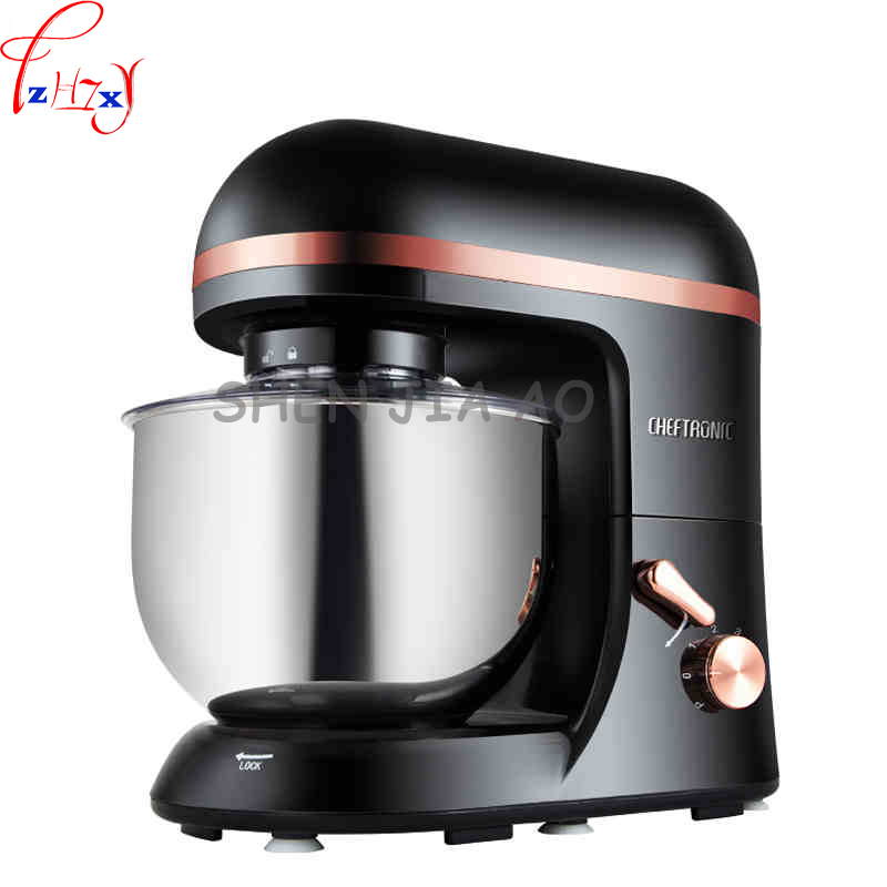 5L multi-functional electric dough mixer dough kneading machine electric food mixer beat egg mixer stainless steel SM-966 cukyi household electric multi function cooker 220v stainless steel colorful stew cook steam machine 5 in 1