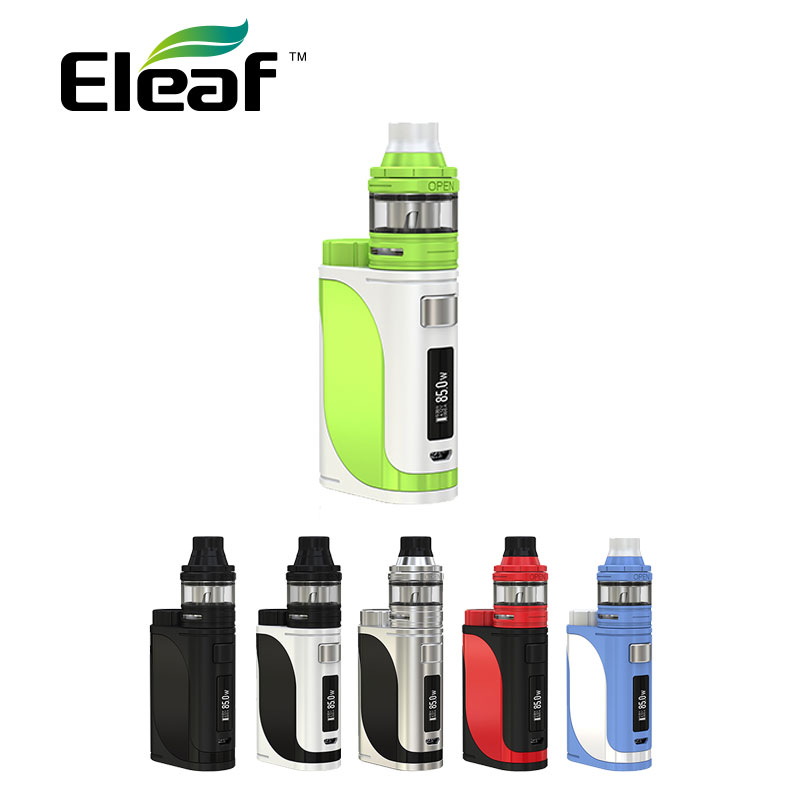 Original 85W Eleaf iStick Pico 25 Starter Kit with Ello Tank 2ml HW Coil 0.2ohm/0.3ohm E-cig Vape Kit iStick Pico 25 vs al85 Mod
