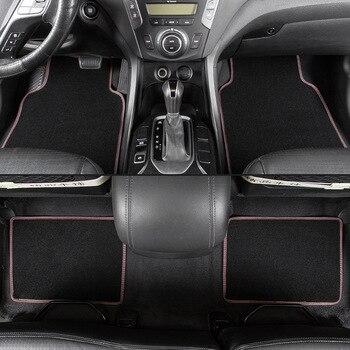 kalaisike universal car floor mats for Maserati all models Ghibli GranTurismo Levante quattroporte auto accessories car styling