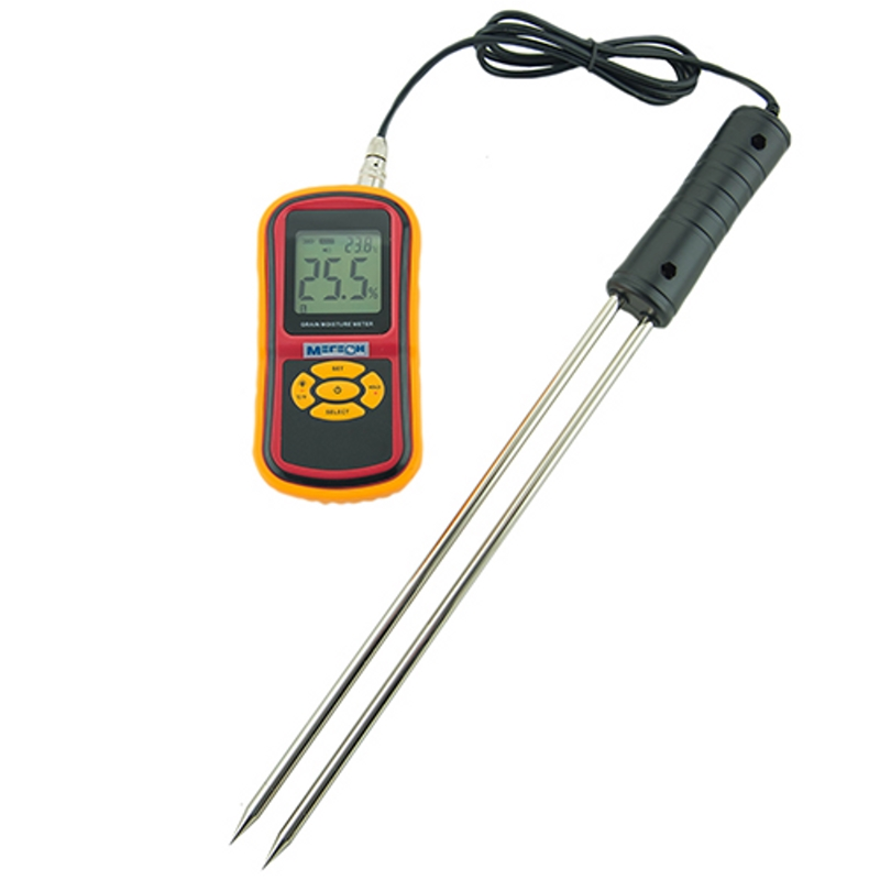 Moisture Meter МЕГЕОН 20540 (humidity measurement from 5 to 30%, function Hold) garden soil moisture humidity and ph acidity meter