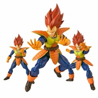 Dragon Ball Z SHF Vegeta Action Figure Sculptures Figure Collectible Mascot Kid Toys Color Edition