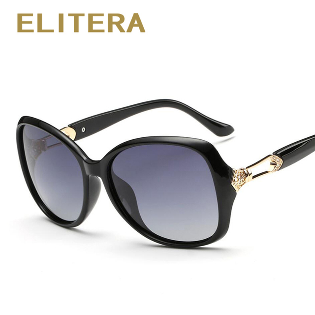 ELITERA New Women Sunglass Fashion Sun Glasses Polarized Gafas Polarized Sunglasses Women Brand Designer Driving Oculos de sol