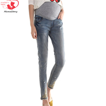 Maternity pregnancy jeans Summer Winter Multi-style jeans Pants for pregnant women Elastic waist jeans pregnant pregnancy clothe