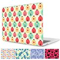 Lady Beetle Laptop Bags Hard Cover For Macbook Pro 13 15 inch Cover Animal Print Crystal Clear Cover for A1706/A1707/A1708 Case