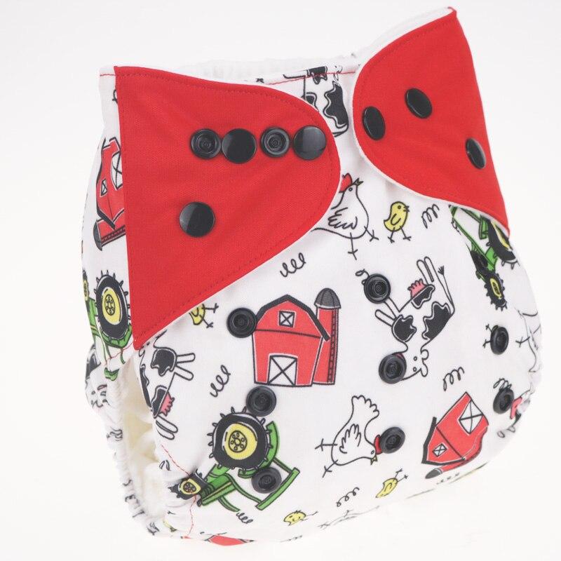 Bébé Couche Lavable Bébé Couches Lavables Couverture À Langer Réglable Taille Couche Lavable fralda de pano merries 0-3 ans