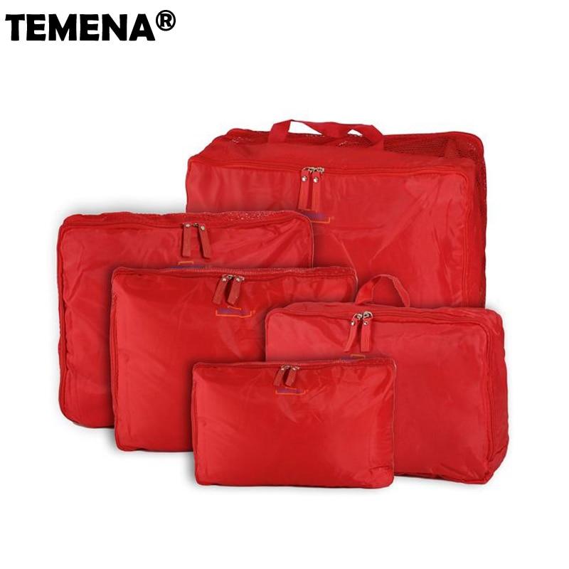 5 colores componen el bolso del organizador de los hombres bolsa de - Bolsas para equipaje y viajes