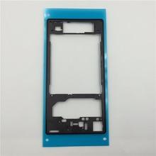 Бесплатная доставка Новый Оригинальный ближний рамка ближний Замена Задняя панель корпуса Пластина для Sony Xperia Z1 L39h C6903 Черный Белый Фиолетовый