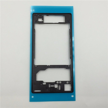 Free shipping New Original middle frame middle Rear housing Replacement Plate for Sony Xperia Z1 L39h C6903 Black White Purple
