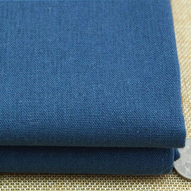 100*140cm,Grey Blue Dress Gowns Table Cloth Material Linen Cotton Fabric  Textiles(