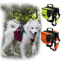 Dog Cat Pet Carrier Harness Bag Put Thing for Large Dog Collar Puppy Bag Pets Vest Load Backpack Dogs Accessories Chihuahua