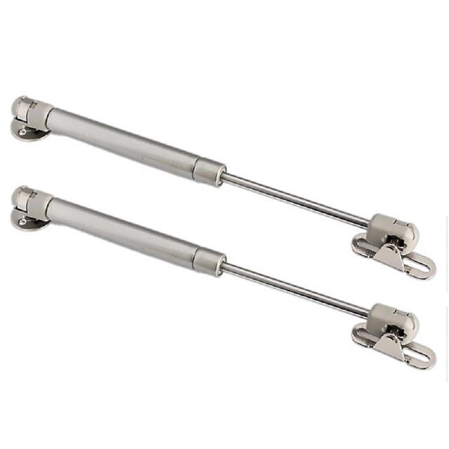 100N /10kg Force Door Lift Support Furniture Gas Spring Cabinet Door Kitchen Cupboard Hinges Lid Stays Soft Open/Close