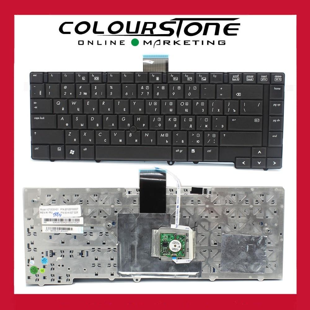Russian Laptop keyboard with Black Point Stick for HP Elitebook 6930 6930p RU keyboard new keyboard for hp elitebook folio 9470 9470m 9480 697685 backlist ru russian swiss layout