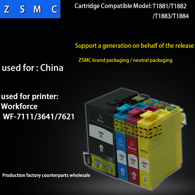 pcs compatible epson ink cartridge  for wf printer also rh aliexpress