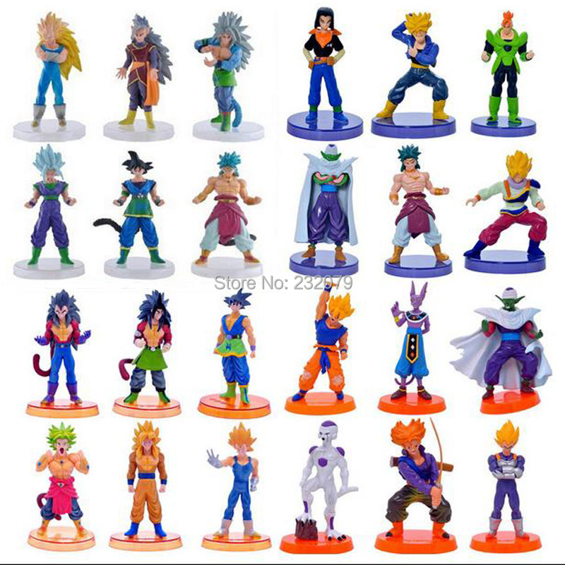 Dragon Ball Z Pvc Action Figures Vegeta Goku Dragonball Anime Figure DBZ Figurines Toy Model Baby Kids Toys Boys Children - Store store