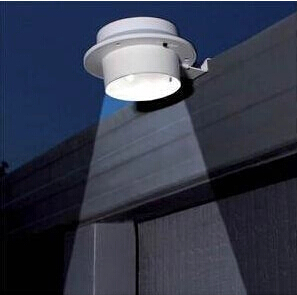 Colorpai 2pcs / lot Solar 3LED fregadero de la energía solar cerca de la lámpara lámpara de pared del pasillo lámpara de energía solar