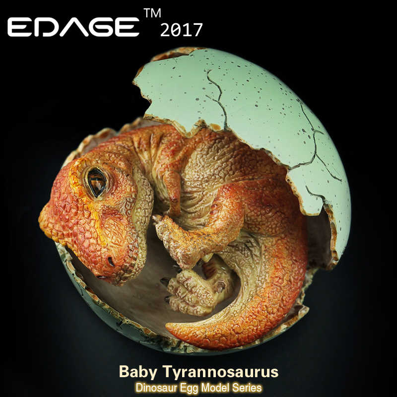 2017 Yasffen Jurassic World Dinosaur model dragon of dinosaur egg hatching  Ancient biological Adult Collection toys