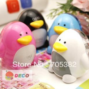 1PC Kawaii Penguin Pencil Sharpener Cartoon Pencil Cutter Office Accessories School Supplies(SS-4708)