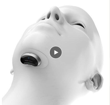 Inteligente Biosensor Ronco Rolha anti snore Dormir Ajuda com o APP e monitor de sono sucedâneo de Parar Ronco dispositivo ajuda sono CPAP
