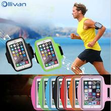 Ollivan Outdoor Sport Phone Bag Case for Xiaomi 6X Redmi 4 4X 5 Plus Note5 Running Bag Arm Wrist Band Holder Pouch for Women Man(China)