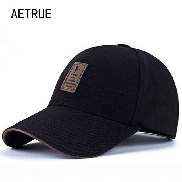 ee84385ae19 AETRUE Baseball Cap Snapback Brand Snapback Caps Hats For Men Women Bone  Masculino Gorras Casquette Adjustable