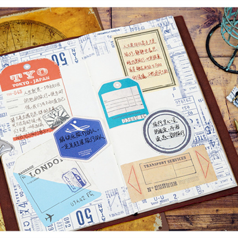 a93bf1a7a17 moking let us go time memo paper diy message note paper notepad pack .