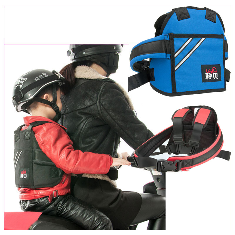 Industrious Motorcycle Children Safety Belt Backpack Carrier Electric Car Bicycling Child Ride Safety Harness Kids Bike Safety Vest Activity & Gear