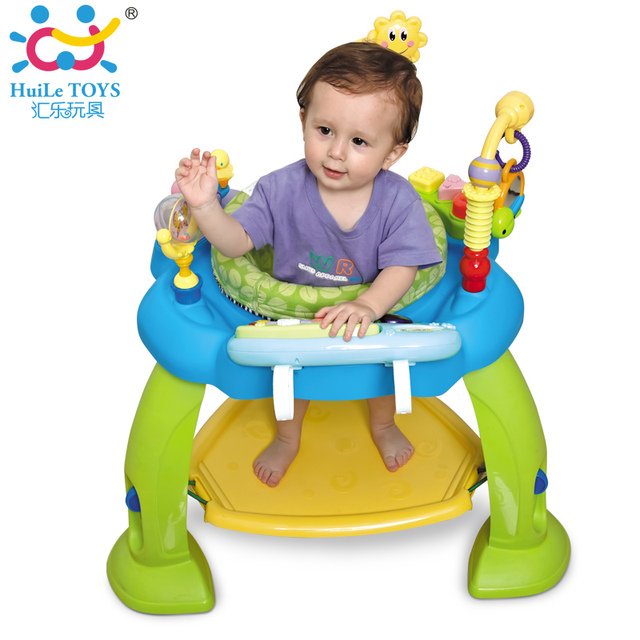 Baby Jumping Bouncer Zoo Rocker Seat Chair Safe Play Area Learning Toys With Electronic Organ Bounce