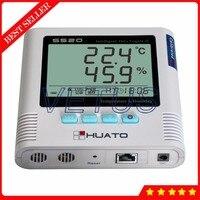 S520-TH-RJ45 внутренний Сенсор Температура влажность данных Регистратор с контроля в реальном времени цифровой Термогигрометр