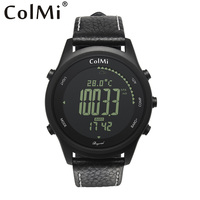 COLMI beyond 5ATM waterproof altimeter barometer thermometer compass weather brim outdoor hiking men sports digital smart watch