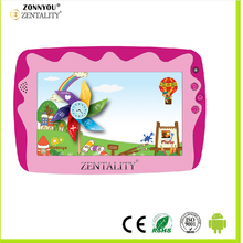 "7 "" Children Tablet PC Parental Control Android 5.1.4 Quad Core1G/ 8 GB WIFI External 3G Bambino Doppia Fotocamera Tablet PC"