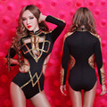 2016 Ds Costume Sexy Cutout Dj Twirled Singer Costumes Pole Dance Clothes