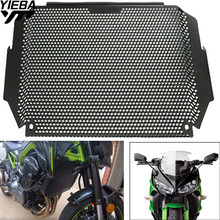 цена на Motorcycle Accessories Stainless Steel Radiator Guard Protector Grille Grill Cover z900  For KAWASAKI Z900 Z 900 2017 2018