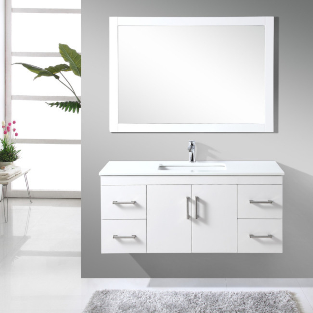 white wooden bathroom cabinets modern white oak wood bathroom cabinet in bathroom 21648
