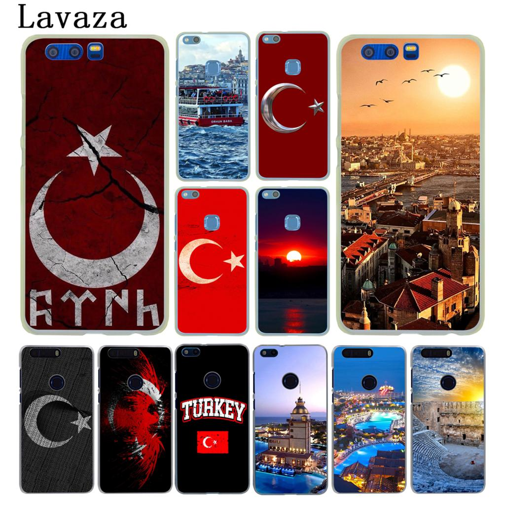 Lavaza Flag of Turkey Istanbul Antalya Hard Case for Huawei Y6 Y5 Y3 II Y7 2017 Y5 2018 Nova 2 Plus 2S 2i Honor 10 9 8 Lite 7 7X
