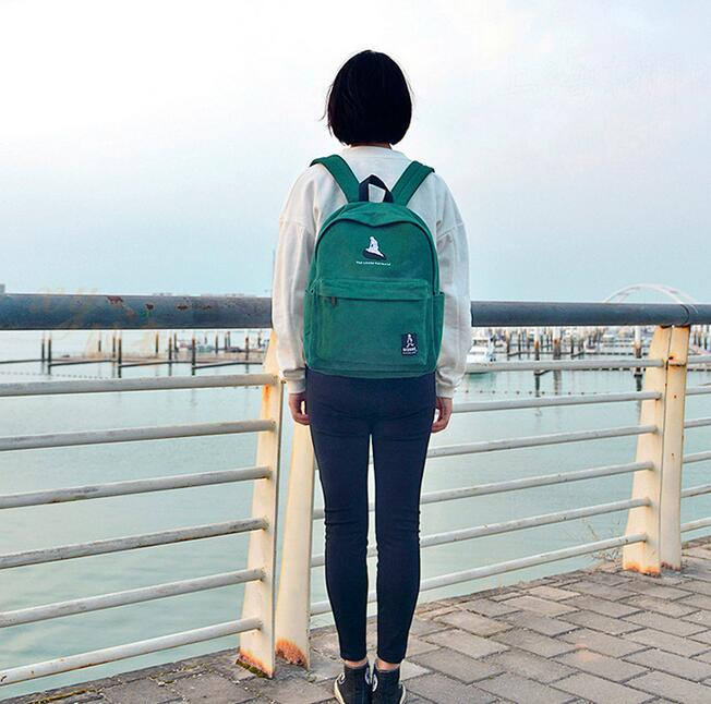 2019 New Embroidery Printing Backpack Junior High School Students Shoulder Bag Women Daily Backpack Casual Travel Bag Mochila #6