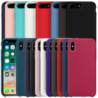 Have LOGO Original Silicone Case for iPhone 7 8 Case For Apple iPhone 8 Plus Cover For iPhone X 6 6s Plus 5 5S SE Retail Box