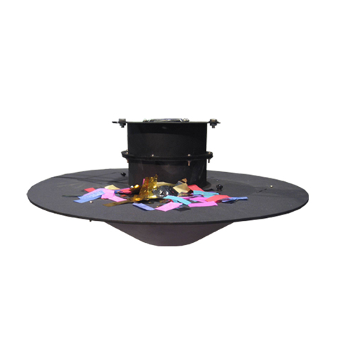 Gigertop Swirl Confetti Machine Loving Romantic Fireworks Effect Power Switch Control Blow Falling Confetti Paper in Sky 1200W
