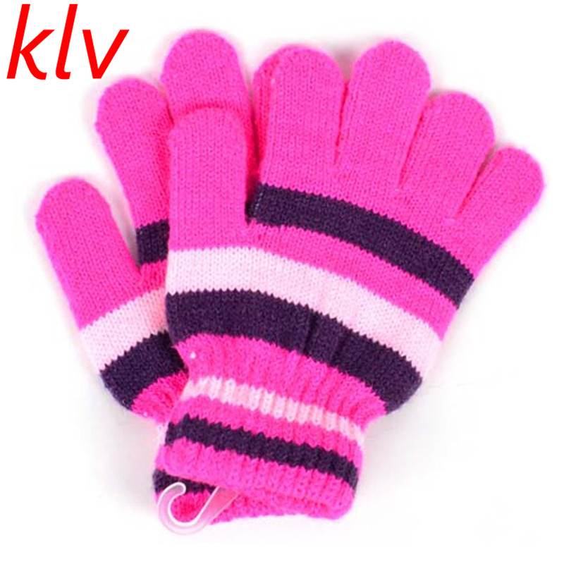 eec68fa47 new appearance 577fe 1890e winter autumn baby crochet warm glove 5 ...
