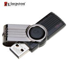 Kingston USB Flash Drive 8 ГБ 16 ГБ 32 ГБ Memory Stick Пластиковые Психического поворотный Флешки Реальная Емкость Pen Drive DT101G2 8 ГБ ES Фондовой