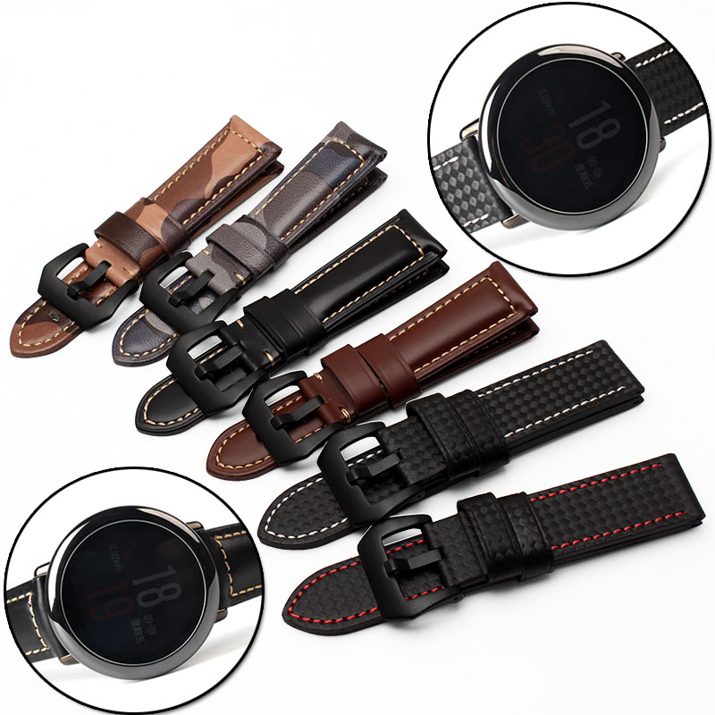 22mm Leather/Stainless steel/Ceramic Band For Huami Amazfit Watch Asus Zenwatch 2 Pebble Time Steel Gear 2 LG G Watch Moto 360
