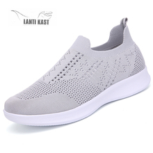 Women Sneakers 2019 Running Shoes Slip on Summer Mesh Breathable Outdoor Sport Female кроссовки женские