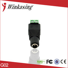 30pcs CCTV Video Camera female dc Connector CCTV DC Power Female Jack Connector Adapter