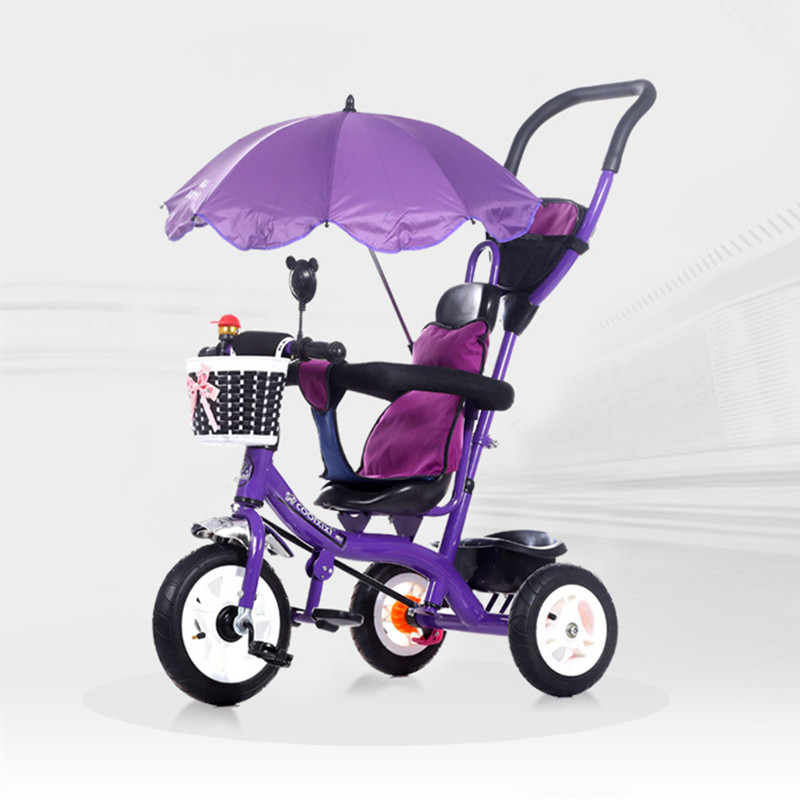 One Omnitest children's tricycle treadle 1-3-5 year old trolley baby child bicycle child bike children ride on toys balance bike three wheels tricycle for kid bicycle baby walker for 1 to 3 years old child best gift