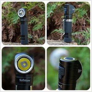 Image 4 - Sofirn SP40 كشافات LED كري XPL 1200lm 18650 USB قابلة للشحن المصباح 18350 مصباح يدوي مع مؤشر الطاقة المغناطيس الذيل