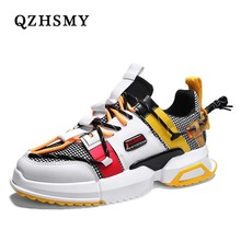 Qzhsmy Shoe Man New Cunha Gross Dad Shoes Mens Ins Hot Harajuku Style Lace -up Male Douche Train Sneakers From Brand Men